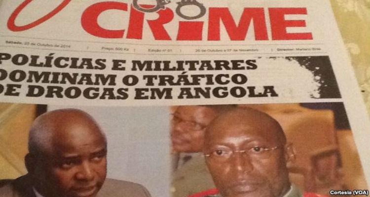 """""""O Crime"""" na luta contra o crime - Folha 8"""