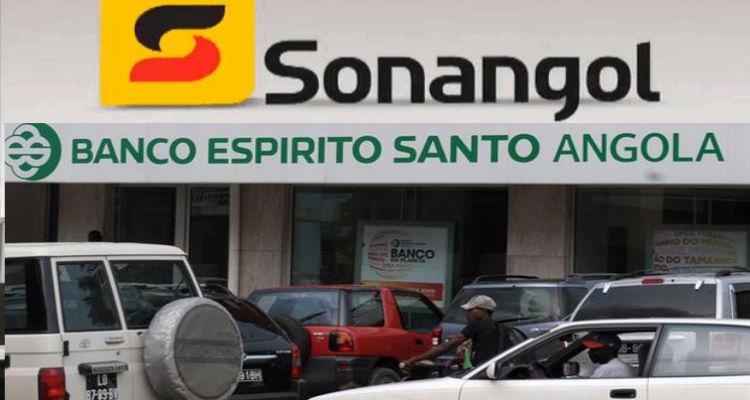 Sonangol, BESA, Banco Económico, regime & Cª - Folha 8