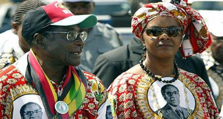 Mulher de Mugabe