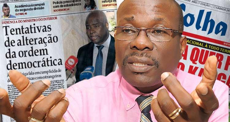 "Editorial: ""Jornal de Angola"" e o incitamento ao racismo, ódio e guerra"