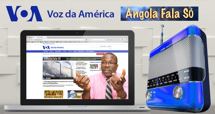Angola Fala Só entrevista o director do Folha 8 William Tonet