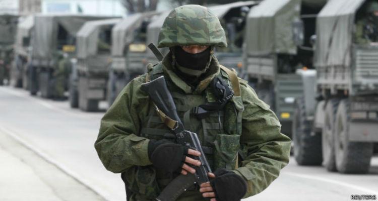 Russos entram em força na Ucrânia - Folha 8