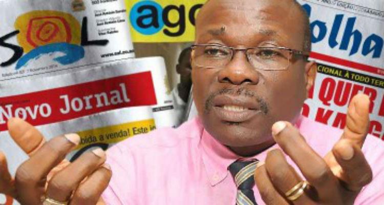 """William Tonet """"Não confundir Angola com cores partidárias"""" - Folha 8"""