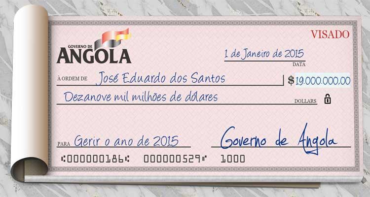 OGE põe milhões na gestão unipessoal do Presidente - Folha 8