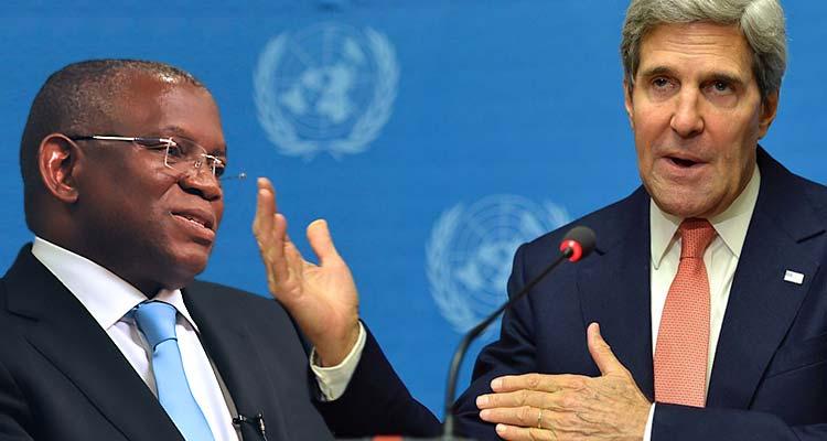 Georges Chikoti e John Kerry analisam parceria estratégica - Folha 8