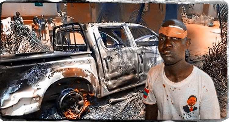 MPLA ataca caravana da UNITA - Folha 8