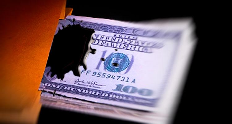 Sumiram os dólares!? Viva a corrupção - Folha 8