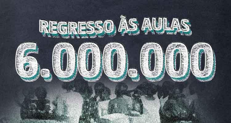 Seis milhões regressam segunda-feira às aulas - Folha 8