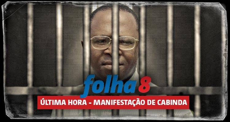 Marcos Mavungo detido - Folha 8