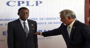 Teodoro Obiang recebido com todas as mordomias na CPLP