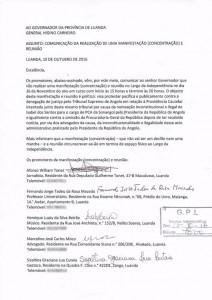 A carta de quem acredita no futuro de Angola
