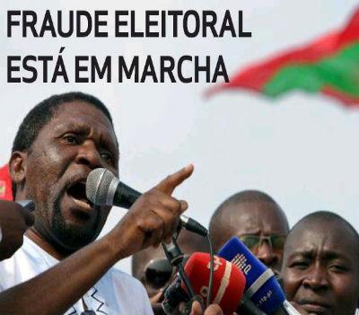Samkuva não tem dúvidas. A fraude está no ADN do regime