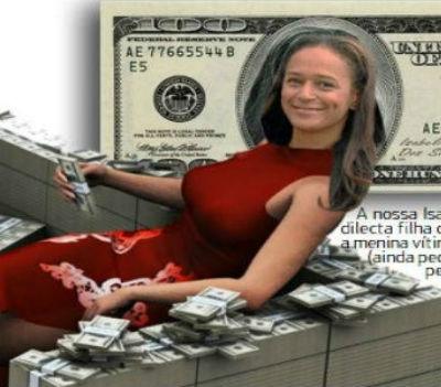 Com uma larga capacidade empresarial, Isabel dos Santos será com certeza candidata, um destes dias, ao Nobel da Economia...