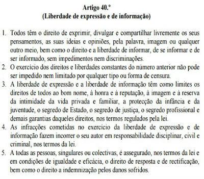 No caso de Angola, a Constituição não vale pelo que determina. Vale por aquilo que o regime entender...