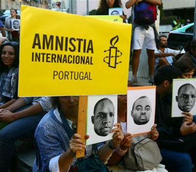 A Amnistia Internacional continua a lutar pelos valores da liberdade, da democracia e dos direitos humanos.
