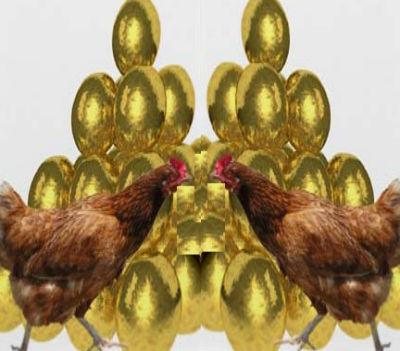 Os ovos (de ouro) são propriedade exclusiva de Isabel dos Santos. Os ovos, o petróleo, os diamantes etc. etc. Tudo.