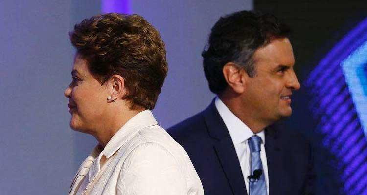 Dilma e Aécio, Aécio e Dilma
