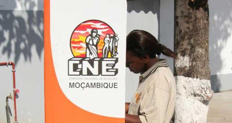 CNE chumba pedido de anulação dos resultados em Moçambique