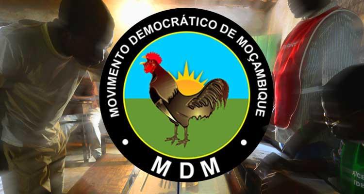 MDM pede anulação do processo eleitoral - Folha 8