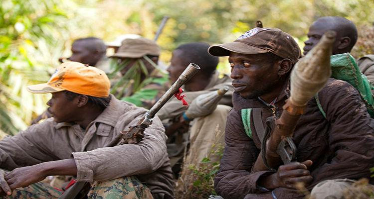 Rebeldes de Casamança acampados na Guiné-Bissau