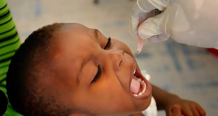 98% das crianças cabo-verdianas vacinadas contra a poliomielite