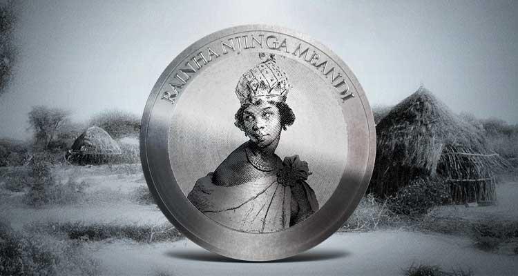 Moeda de 20 kwanzas homenageia rainha Njinga - Folha 8