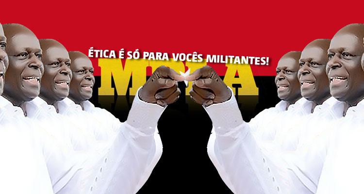 Discurso de Eduardo dos Santos faz das tripas coração - Folha 8