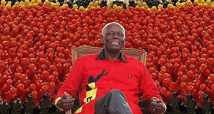 21 milhões de militantes queriam estar no V Congresso do MPLA - Folha 8
