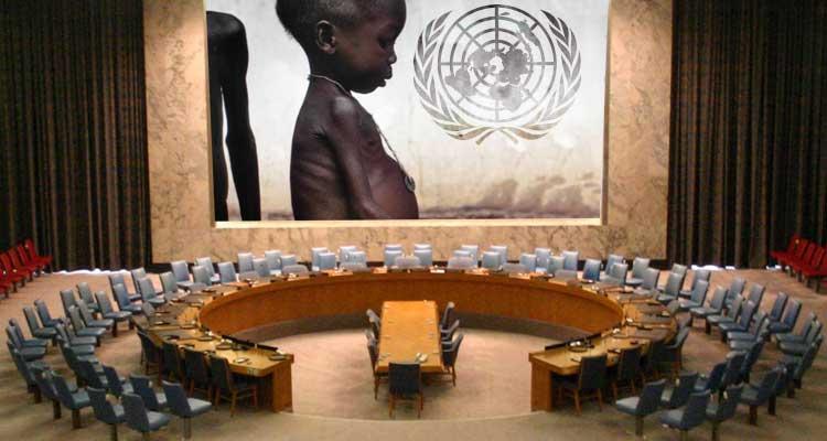 """Povo faminto """"aplaude"""" regresso às Nações Unidas - Folha 8"""
