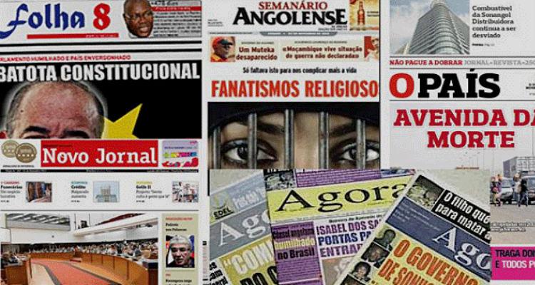 Liberdade de Imprensa em Angola rima com miragem - Folha 8