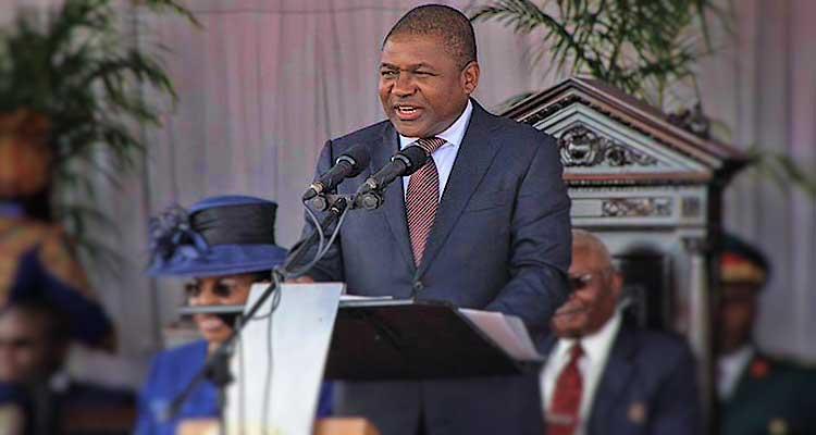 Filipe Nyusi tomou posse como Presidente de Moçambique - Folha 8