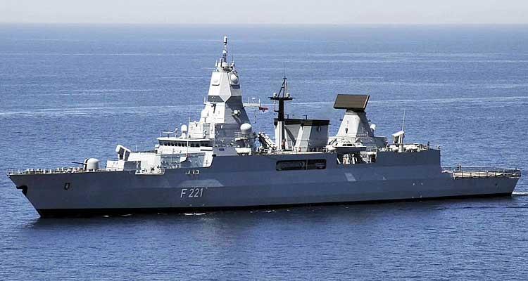 Exercício naval com a Alemanha - Folha 8