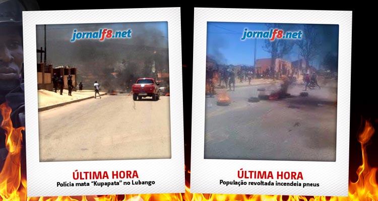 "Polícia mata ""Kupapata"" no Lubango - Folha 8"