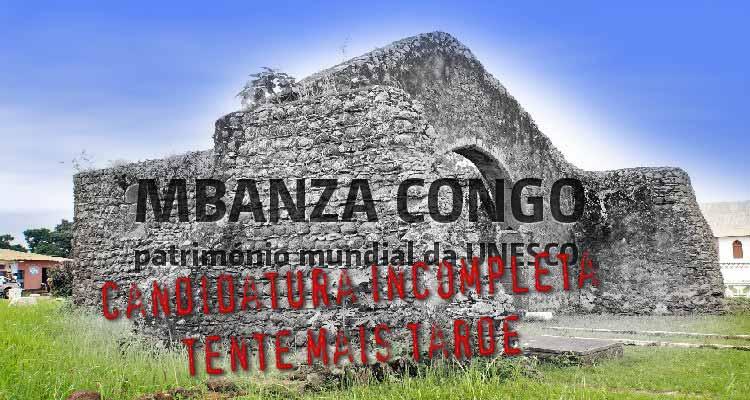 Candidatura de Mbanza Congo incompleta - Folha 8