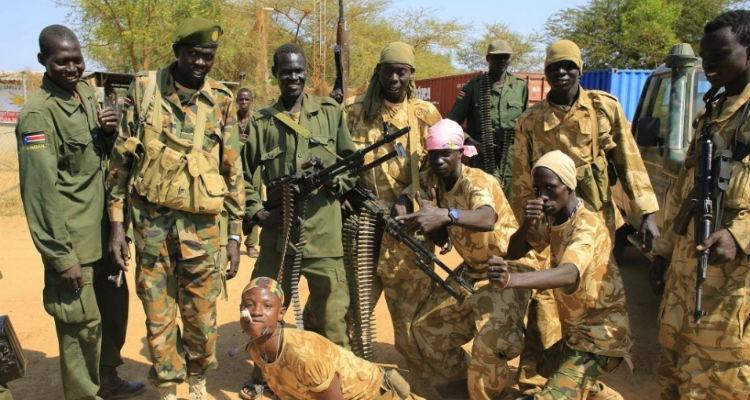Resultado de imagem para sudão do sul guerra