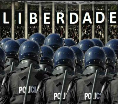 A liberdade do cidadão termina onde começa a do Estado. Mas a do Estado não termina onde começa a do cidadão.