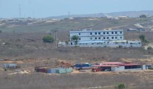 Vista sobre o terreno onde o PGR pretende construir condomínio privado