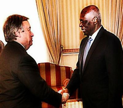 E agora? Depois do apoio de Eduardo dos Santos, António Guterres terá de pagar a factura. O que vale é que Angola é um reino... impoluto!!!