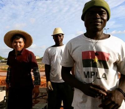O MPLA afirma e reafirma que está com os chineses. E como são eles os donos do país desde 1975...
