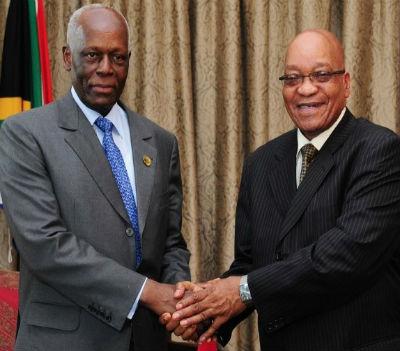 Eduardo dos Santos é o mestre dos mestres. Jacob Zuma tem muito a aprender.