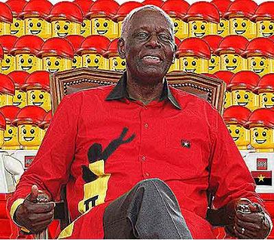 Os fantasmas de sua majestade o rei do MPLA e de Angola nunca foram derrotados. José Eduardo dos Santos acredita que os derrotará. Está enganado.