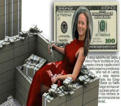 Isabel dos Santos é, reconheça-se, o exemplo acabado de um país rico que em vez de produzir riquezas só conseguir produzir ricos.