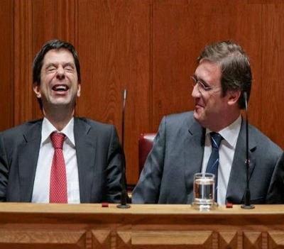Vítor Gaspar (ministro das Finanças) e Passos Coelho (primeiro-ministro) gozaram com a chipala dos portugueses, mas… o circo foi derrotado nas urnas.