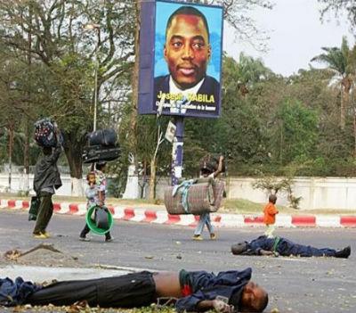 Joseph Kabila é um servo ao serviço dos interesses regionais de José Eduardo dos Santos. Ou faz o que ele manda ou vai suceder-lhe o mesmo que ao pai.